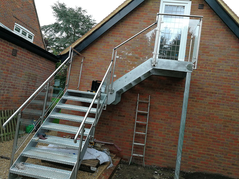 External Steel Staircases